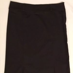 H&M Stretch Solid Brown Women's Skirt Size 10